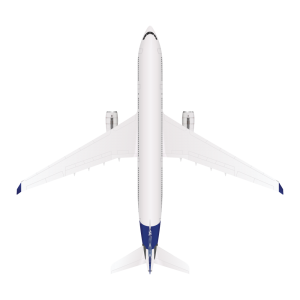 Airbus A330 top view