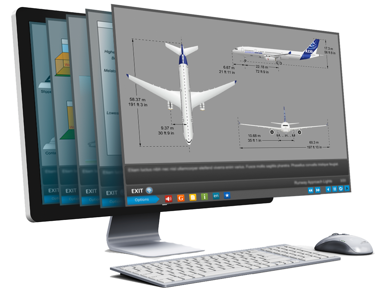 Pelesys aviation training courseware library