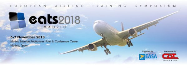 Pelesys looks forward to attending EATS 2018 the European Aviation Training Symposium in Madrid