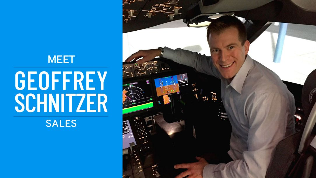 Pelesys aviation training solutions employee feature Geoff