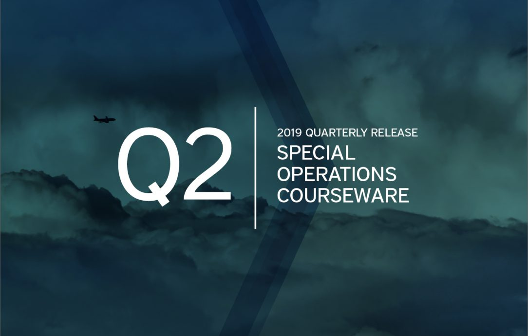 Q2 2019 Special Operations Courseware Updates