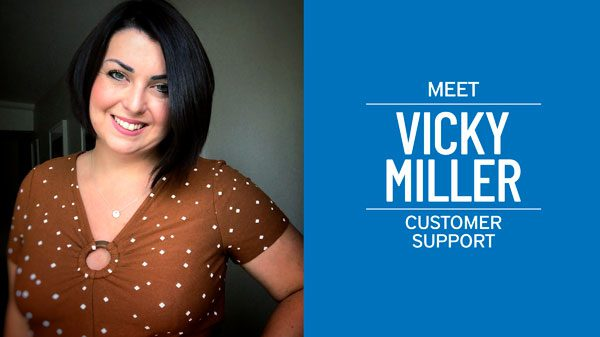 Pelesys aviation training employee feature Vicky Miller Customer support