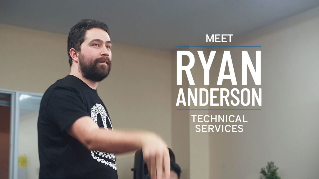 Employee Feature Ryan Anderson Technical Services