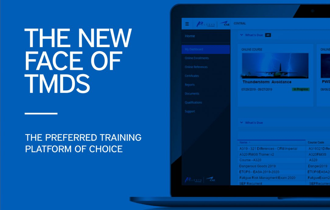 Pelesys Training Management and Deployment TMDS dashboard updates