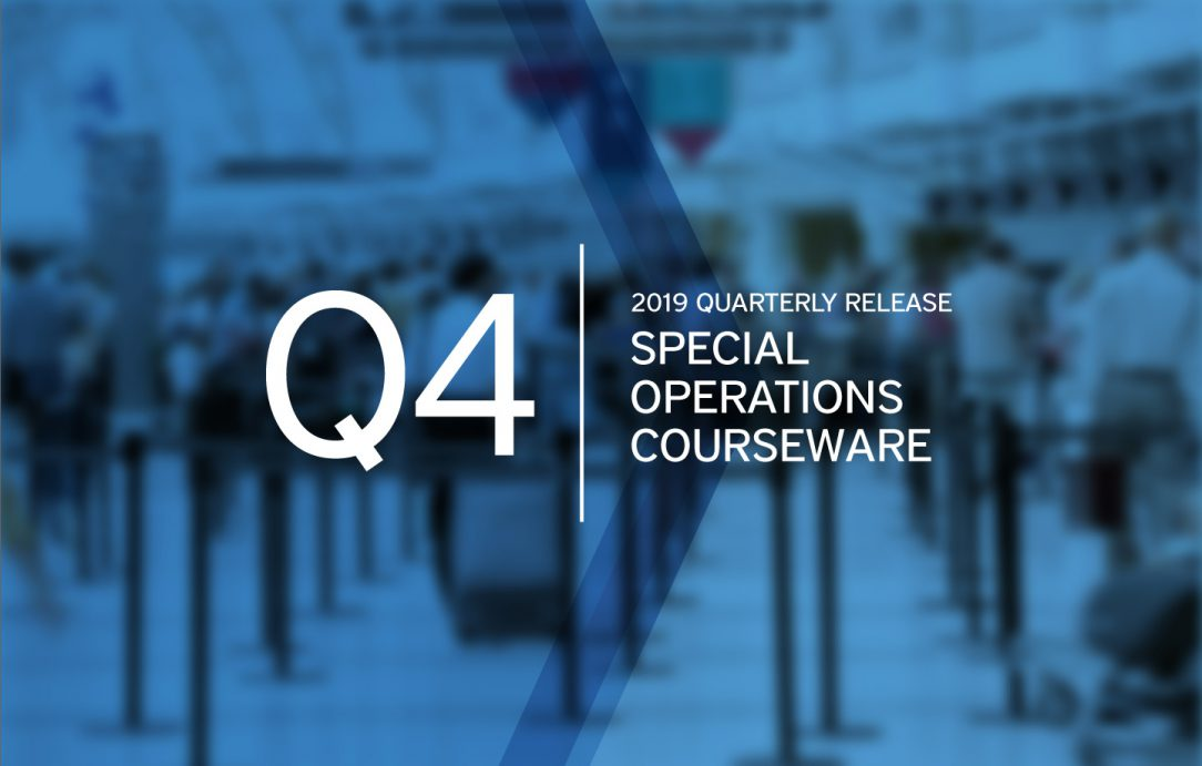 Pelesys Q4 special operations courseware pilot training updates